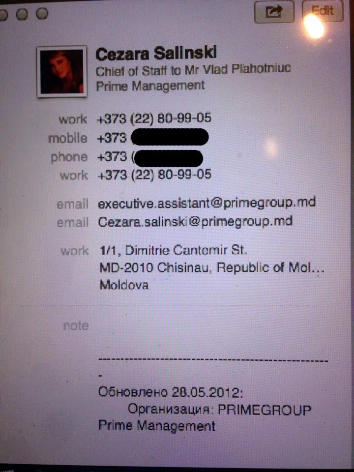 Atașamentul la emailul expediat de Plahotniuc lui Hrebenciuc.