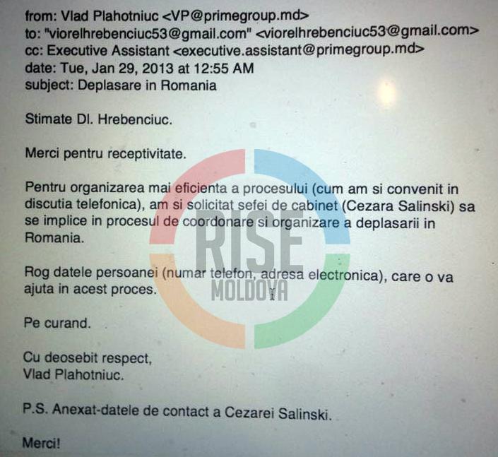 Email Plahotniuc