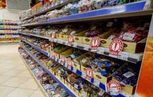 "Прилавок магазина ""Шериф"" заполнен украинскими товарами"