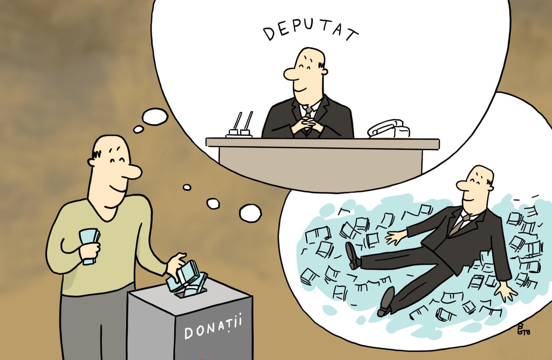 caricatura-donatorii-partidelor-interese-pecuniare